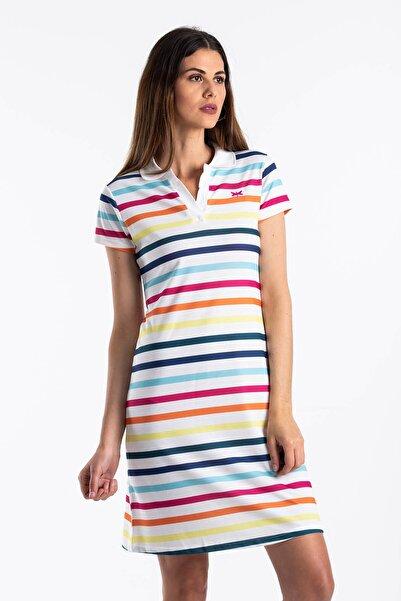 Çizgili Yazlık Elbise