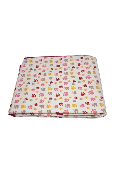 Miniworld Baskılı Penye Battaniye Pati Desenli