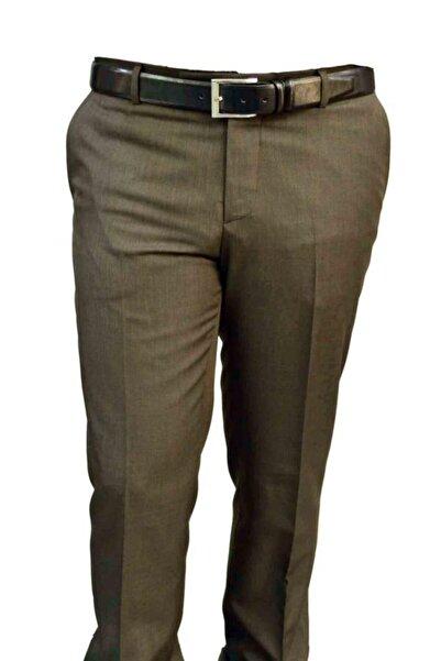 Sude Erkek Kahve Klasik Kesim Pantolon 50135