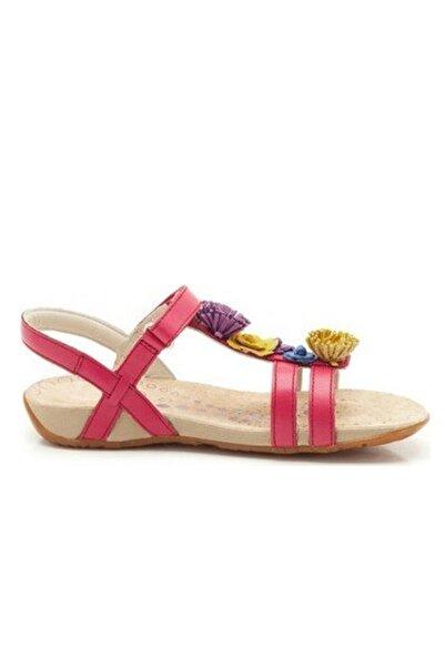 CLARKS Kız Çocuk Pembe Sandalet