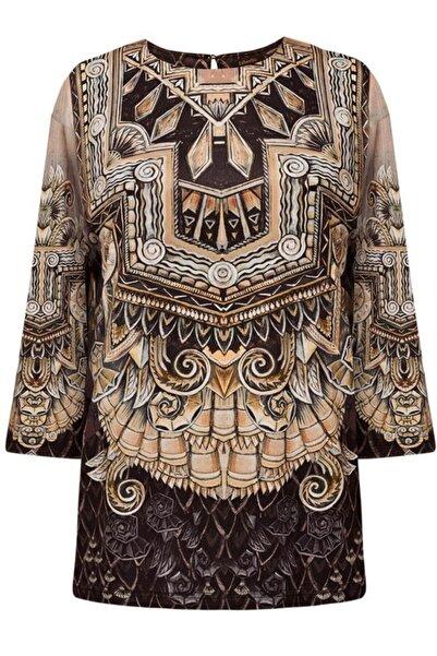 Faberlic Kadın Kahverengi Kadınlar Için Bluz