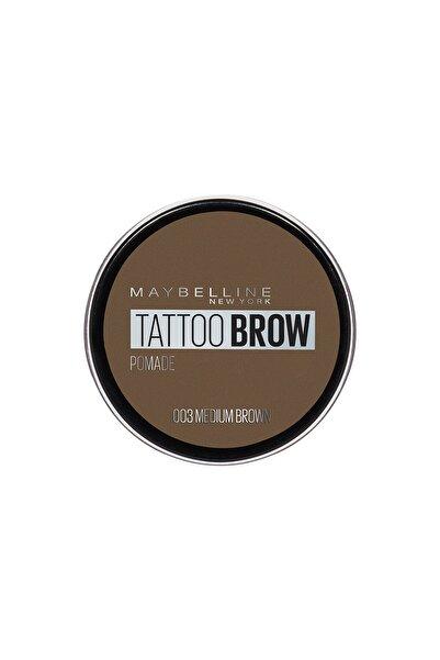 Maybelline New York Kaş Pomadı - New York Tattoo Brow No:03 Medium Brown 3600531516734