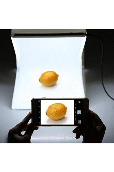 Mobee Pratik Katlanabilir Mini Stüdyo Led Işıklı Ürün Fotoğraf Çekim Çadırı