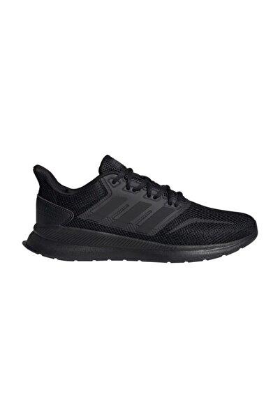 Runfalcon Siyah Koşu Yürüyüş Spor Ayakkabısı 41-46 Numara
