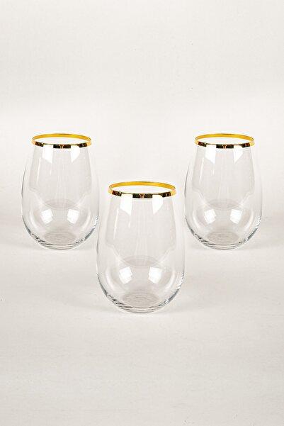 Astoria Kristalin Cam 3'lü Meşrubat Bardağı Seti 500 cc