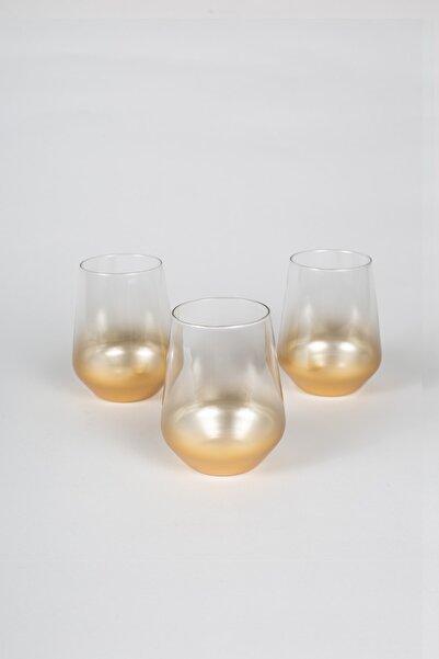 Rakle Glow 3'lü Su Bardağı Seti 425 cc
