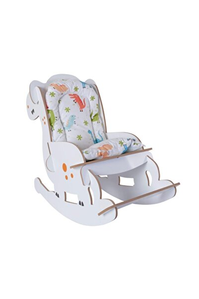 Mavienerji Ahşap Sallanır Çoçuk Sandalyesi Çocuk Koltuk Bebek Koltuk Sandalye