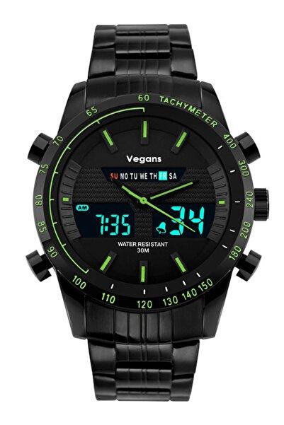 Vegans 1131 Dijital Erkek Kol Saati