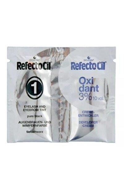 Refectocil Kaş Kirpik Boyası 1ml Boya 1 Ml Oksidan Sache No 1 Siyah