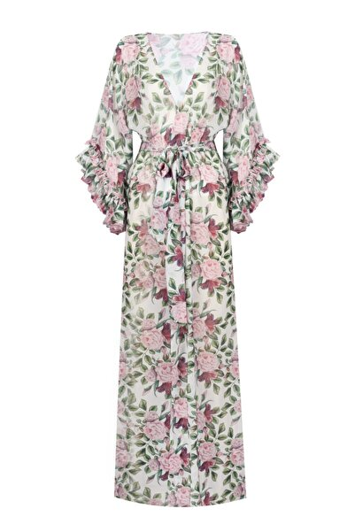 Nur Karaata Rose Pareo Dress