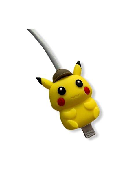 MY MÜRDÜM Sevimli Karakterler Iphone Şarj Kablo Koruyucusu Pikachu