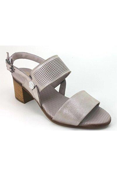 Mammamia Kadın Vizon Topuklu Ayakkabı