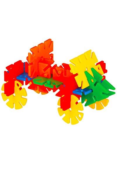 DEDE Özel Saklama Kabında Çiçek Puzzle 200 Parça Lego 03147