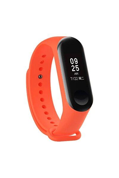 ibovia Turuncu M3 Bluetooth Digital Renkli Ekran Titreşimli Akıllı Bileklik Saat