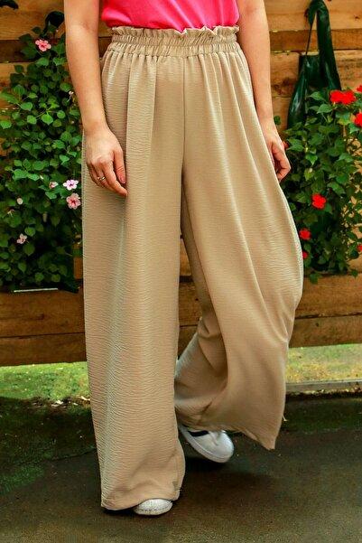 Madmext Kadın Camel Pantolon
