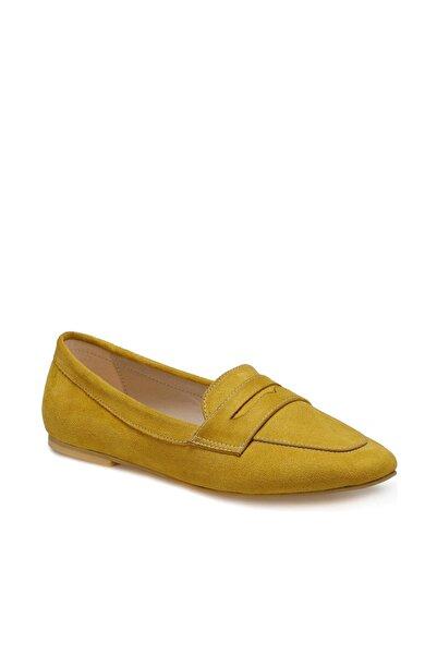 Miss F DS20048 Hardal Kadın Loafer Ayakkabı 100517602