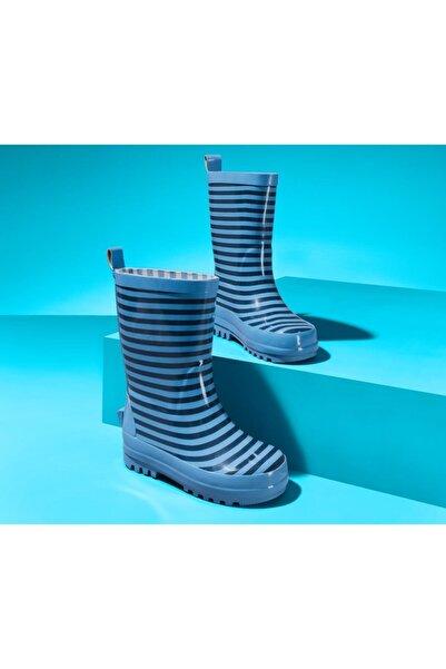 Tchibo Çocuk Mavi Yağmur Çizmesi