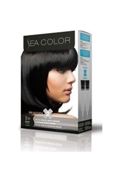İyi Adam Sea Color Saç Boyası 2 Li 1.0 Siyah