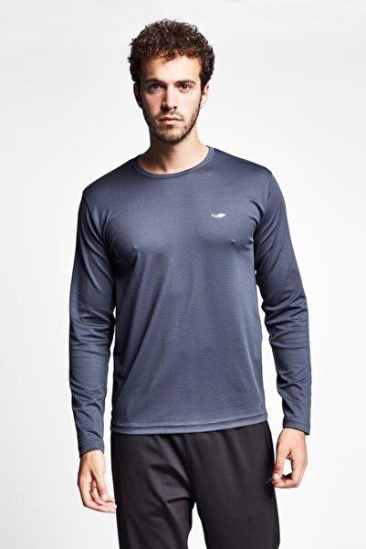 Lescon 19s-1233-19n Gri Erkek Uzun Kollu T-shirt