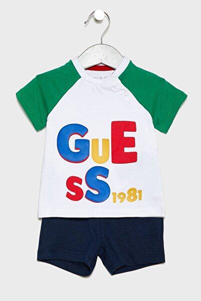 Guess Erkek Bebek Renkli Bebek Body & Zıbın I93G06K82K0