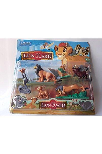 Lion Guard Aslan Koruyucular 6lı Oyuncak Figür Kıon Bunga Lıon