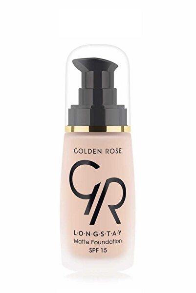 Golden Rose Dayanıklı Mat Fondöten - Longstay Matte Foundation No: 03 32 Ml 8691190687038