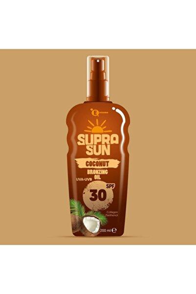 Supra Sun Bronzing Oil Spf 30 Faktör 30 Koruma ve Bronzluk