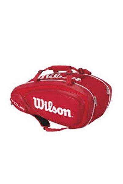 Wilson Tenis Çantası Tour V 9 Pack Kırmızı