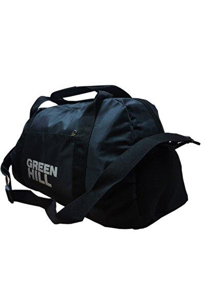 Green Hill Siyah Spor Fitness Seyahat Çantası