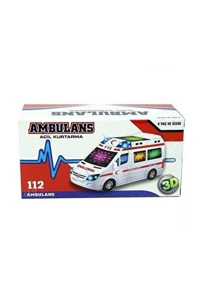 Smarttoys Sesli 3d Işıklı Ambulans