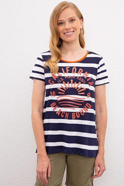 U.S. Polo Assn. Kadın T-Shirt G082SZ011.000.972800