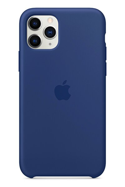 Ebotek Apple Iphone 11 Pro Max Silikon Kılıf Lacivert