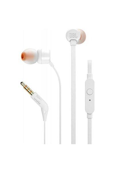 JBL T110 Mikrofonlu Kulak içi Kulaklık Beyaz