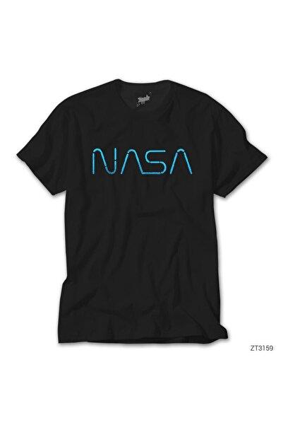 Zepplin Giyim Nasa Lite Siyah Tişört