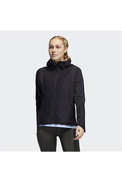 adidas Kadın Siyah Spor Sweatshirt Hoodıe Dy4198 Ch Fz
