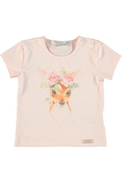Monna Rosa Kız Çocuk Pembe T-Shirt