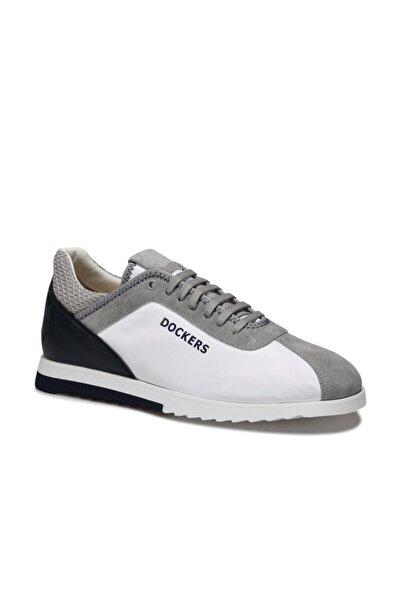 Dockers By Gerli 228155 Beyaz Erkek Kalın Taban Sneaker Spor Ayakkabı