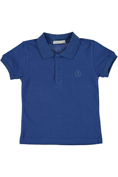 Monna Rosa Erkek Çocuk Lacivert Polo T-shırt