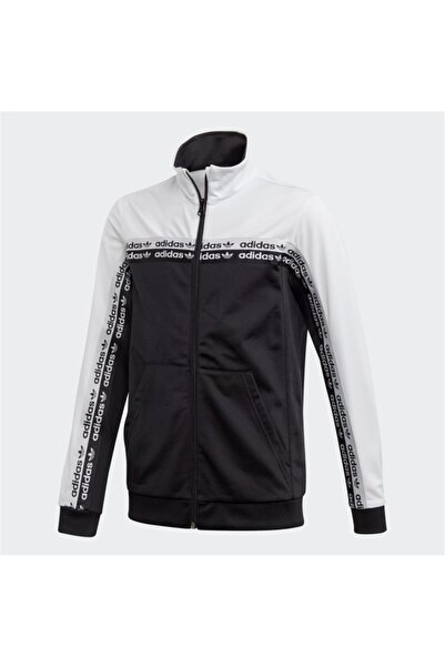 adidas Erkek Siyah Tracktop Ceket