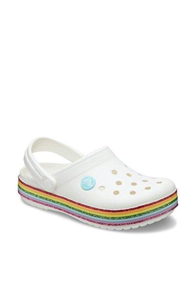 Crocs Kids Beyaz Kız Çocuk Spor Sandalet