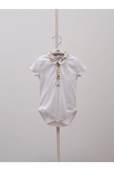 Monna Rosa Erkek Bebek Beyaz Tulum