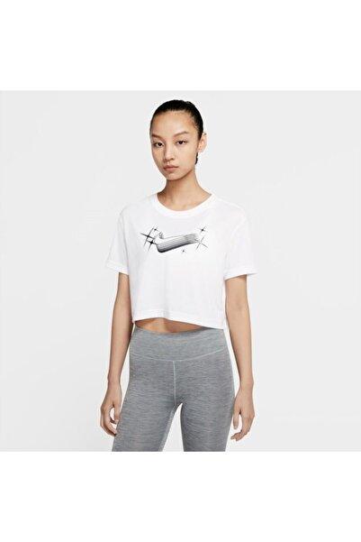 Nike Dri-fıt Women's Cropped Training T-shirt