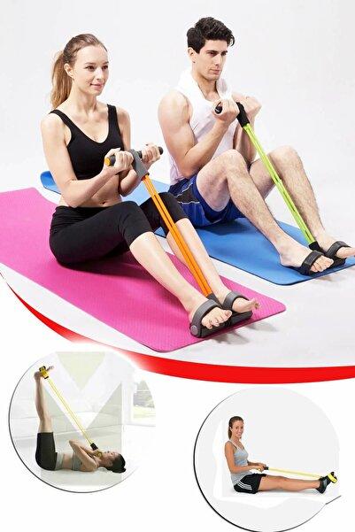 Mobee Kondisyon Küreği Mekik Direnç Lastiği Spor Egzersiz Aleti