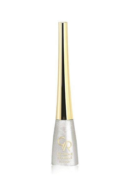 Golden Rose Gümüş Renk Eyeliner - Extreme Sparkle Eyeliner No: 101 8691190001018