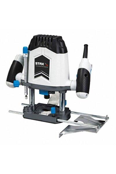 STAXX POWER Staxx Pro 2200w Formika Traşlama Freze Makinası 6 -8 Mm Pens Devir Ayarlı Garantili