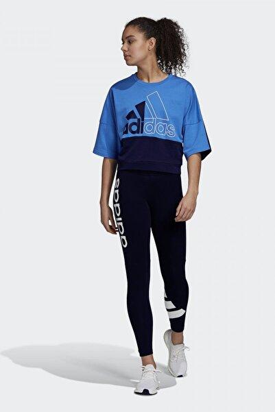 adidas Kadın Mavi Sweatshirt