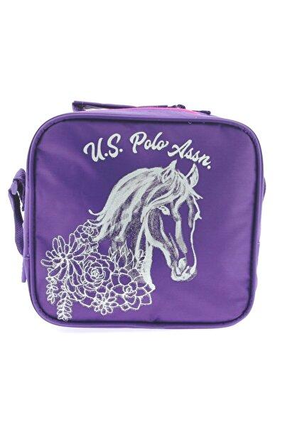 U.S. Polo Assn. Polo Mor Çiçekli Beslenme Çantası 49492