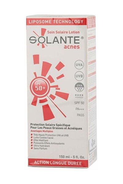 Solante Acnes Güneş Koruyucu Losyon Spf 50+ 150 Ml 8699278060124