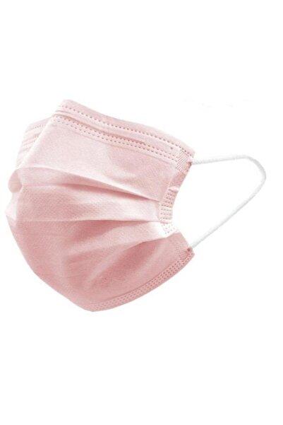 Safe Mask Maske Renkli (toz Pembe) 50'li Kutu