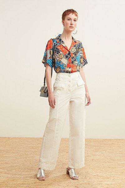 Mudo Kadın Beyaz Pantolon 378539